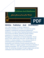 Mithila Publisher and Distributors(Book Seller,Books Publishers,Books Suppliers,Books distributors,Books Exporters, Library Books suppliers)