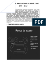 DISEÑO DE RAMPAS EN ZIC ZAC Y CIRCULAR