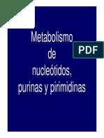 Metabolismo de Purinas y Pirimidinas (14!09!11)