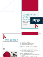 Management of HIV in Pregnancy