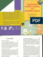 Como hacer experimentos sencillos con materiales comunes.pdf