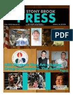 The Stony Brook Press - Volume 30, Issue 12