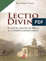 Livro Lectio Divina | A leitura orante da bíblia e a   espiritualidade cristã