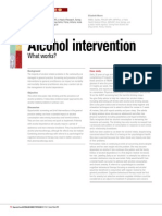 Alcohol Intervention - What works