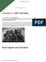 McIntosh EF-1080I Information _ My Blog