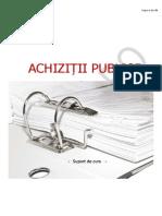 Suport Curs Achizitii Publice Site APSAP