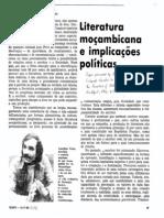 Literatura moçambicana...