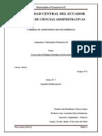 Matemática Financiera II tasas internacionales