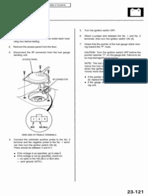 [DIAGRAM_5FD]  1995 -1998 Acura 2.5TL 3.2TL Service Manual_Part9 | Electrical Connector |  Headlamp | 98 Acura 3 2tl Engine Diagram |  | Scribd