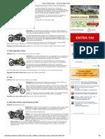 Tipos de Motocicletas - Clases de Motocicletas