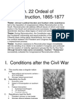 22 the Ordeal of Reconstruction_ 1865-1877
