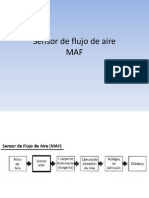 Sensor de Flujo de Aire MAF