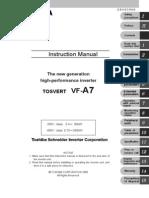 VF A7 Manual