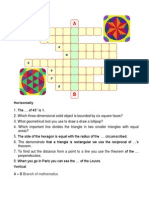 Crosswords Puzzle 8C,6C