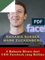 Rahasia Sukses Mark Zuckenberg