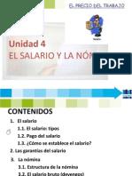 UNIDAD 4. EL SALARIO Y LA NÓMINA