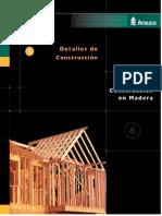 Injenieria en Madera Detalles Constructivos