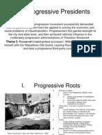 28 and 29 Progressivism