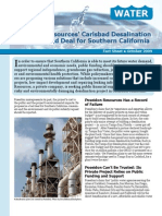 Poseidon Resources' Carlsbad Desalination Plant Is a Bad Deal for Southern California