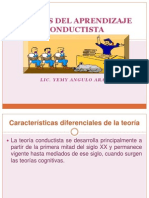 TEORÍAS DEL APRENDIZAJE CONDUCTISTA