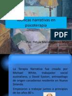 Técnicas narrativas en psicoterapia