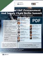 E&P agenda 2014