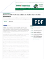 Strahlenfolter Stalking - TI - MKUltra 1 Insbruck - Stimme befahl Tochter zu ertränken - Tiroler Tageszeitung Online vom 10.07.2012