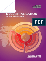 Fiscal Decentralization in Philippines