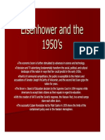 37 the Eisenhower Era