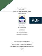 Jurnal Praktikum Koefisien Distribusi