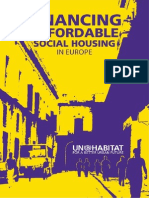 Financing Affordable Social Housing in Europe