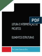 Desenho-De-estruturas Elementos Estruturais Leitura Projeto Arquivo