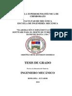 software para diseño de TB