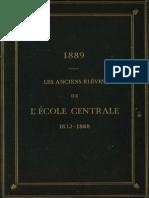 Annuaire de l'Ecole Centrale 1889