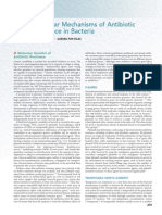 Mecanismos Moleculares de Resistencia Bacteriana