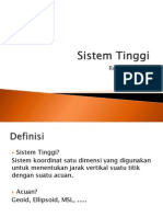 Sistem Tinggi (referensi vertikal)