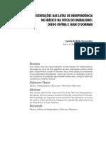 As Representações das Lutas de Independência no México na Ótica do Muralismo – Diego Rivera e Juan O'Gorman