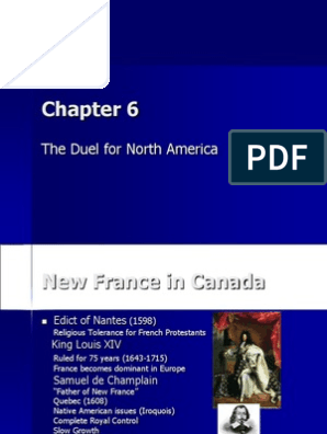 APUSH Chapter 6 Powerpoint | Kingdom Of Great Britain | New France