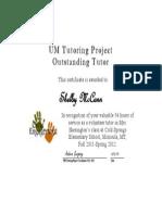 umtp certificate