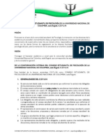 ESTATUTOS Consejo Estudiantil_2013