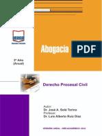 MODULO 3o Ano - Do Procesal Civil