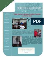 April 2014 FWISD After School Newsletter