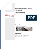 iSec Final Open Crypto Audit Project TrueCrypt Security Assessment