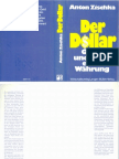 der Dollar-Glanz und Elend einer Währung -Anton Zischka-1986