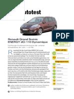 Renault Grand Sc Nic ENERGY dCi 110 Start Stop Dynamique