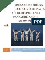 Informe Del Panamericano de Taekwondo Junio 2011