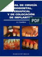 Manual de Cirugia Periodontal, Periapical y de Colocacion de Implantes - Cambra