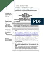 Governance Committee Agenda Packet 04-16-14
