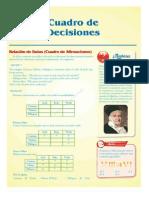 CUADRO DE DECISIONES EJERCICIOS DE RAZONAMIENTO MATEMATICO DE CUARTO AÑO DE SECUNDARIA CON TEORIA Y EJEMPLOS DESCARGA GRATIS PDF ~ PDF GRATIS