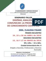 Afiche Seminario Dra. Figari